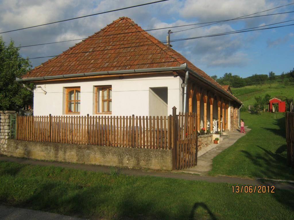 Huis aan de voorkant