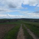 uitzicht bij Hangács (dorp verderop)