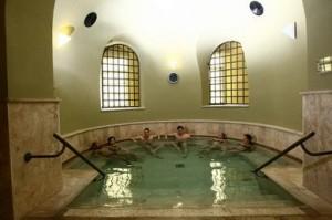 Het Turkse bad van Eger
