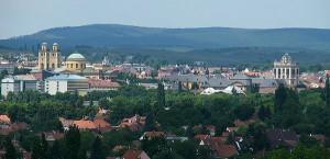 Panorama van Eger