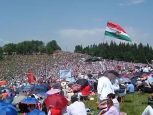 Csiksomlyó: een half miljoen bezoekers