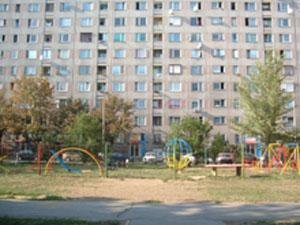 Flat in een buitenwijk van Miskolc